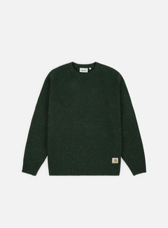 Carhartt - Anglistic Sweater, Loden Heather