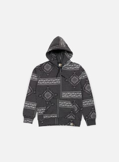 Carhartt - Assyut Hooded Sweatshirt, Assyut Print Black/White 1