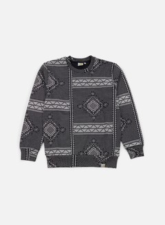 Carhartt - Assyut Sweatshirt, Assyut Print Black/White