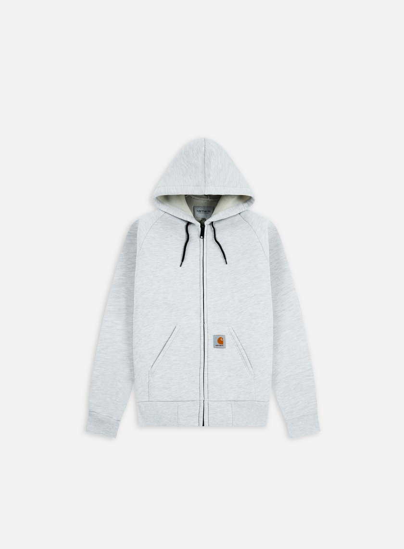 Carhartt - Car-Lux Hooded Jacket, Ash Heather/Grey Heather