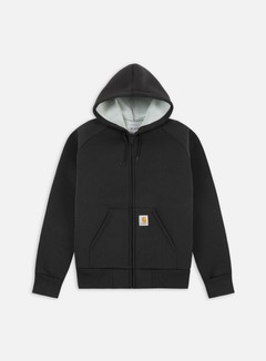 Carhartt - Car-Lux Hooded Jacket, Black/Grey 1