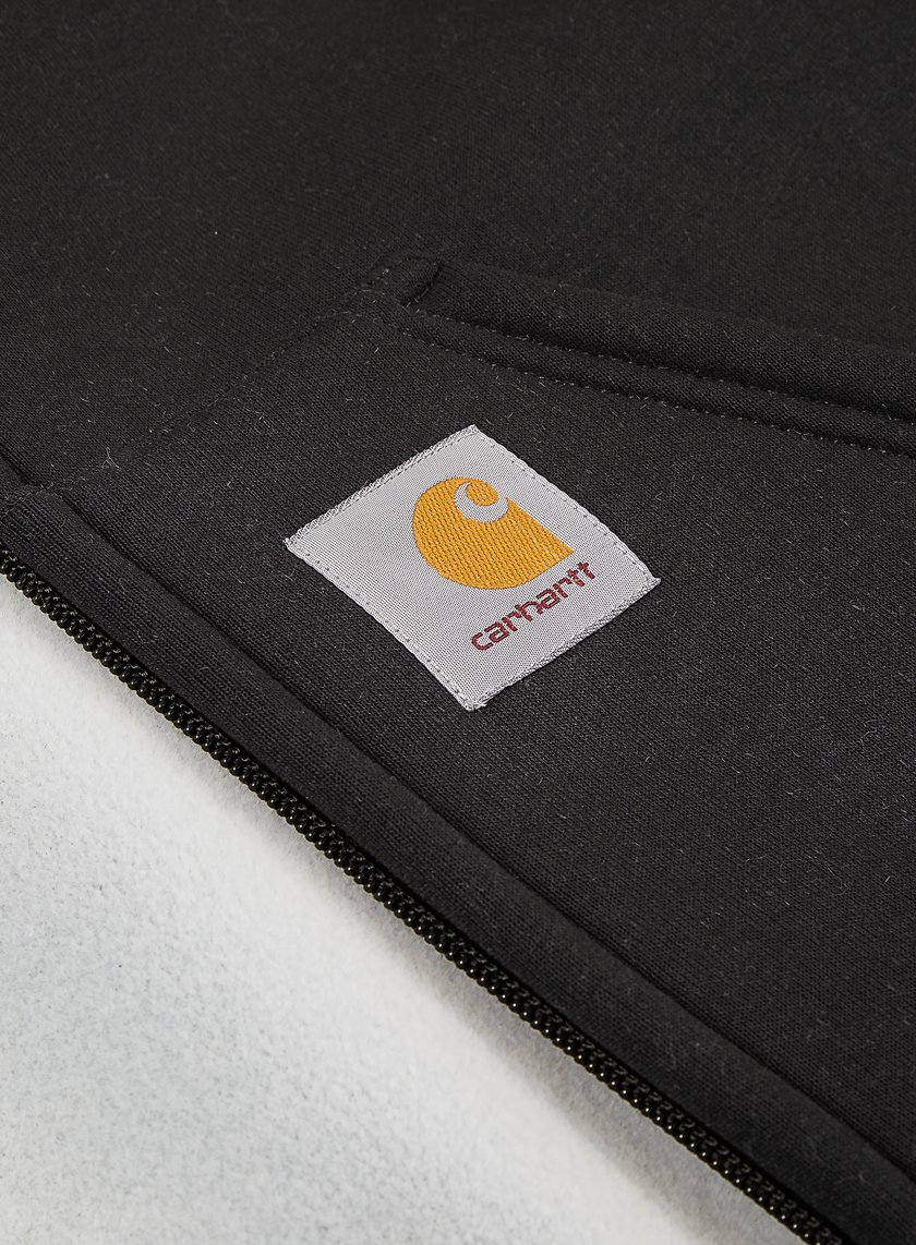 Carhartt Car Lux Hooded Jacket Black Grey 125 00