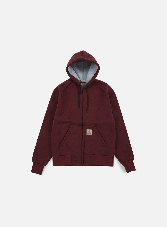Carhartt - Car-Lux Hooded Jacket, Chianti