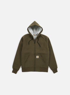 Carhartt - Car-Lux Hooded Jacket, Cypress/Grey 1