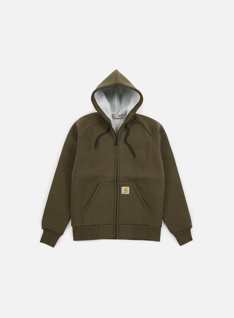felpe carhartt car lux hooded jacket cypress grey