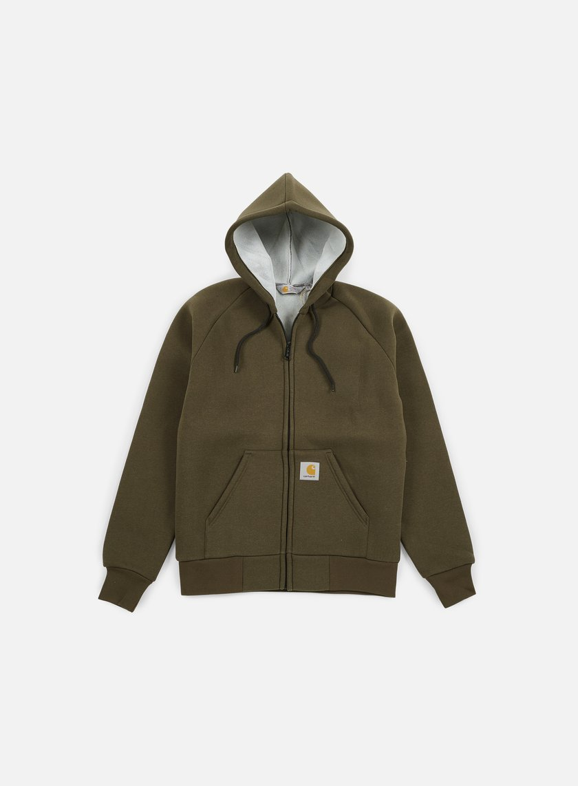 Carhartt Car Lux Hooded Jacket Cypress Grey 62 50