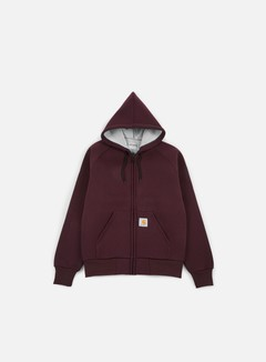 Carhartt - Car-Lux Hooded Jacket, Damson/Grey