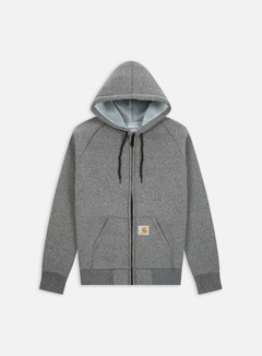 Carhartt - Car-Lux Hooded Jacket, Dark Grey Heather/Grey 1