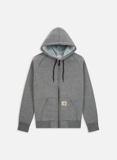 Carhartt - Car-Lux Hooded Jacket, Dark Grey Heather/Grey