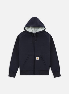 Carhartt - Car-Lux Hooded Jacket, Dark Navy/Grey 1