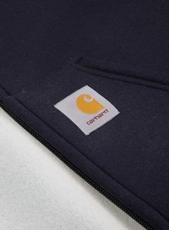 Carhartt - Car-Lux Hooded Jacket, Dark Navy/Grey 3