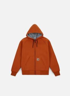 Carhartt - Car-Lux Hooded Jacket, Persimmon/Grey