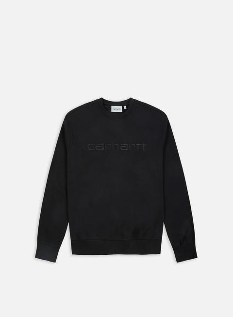 felpe carhartt carhartt sweatshirt black black