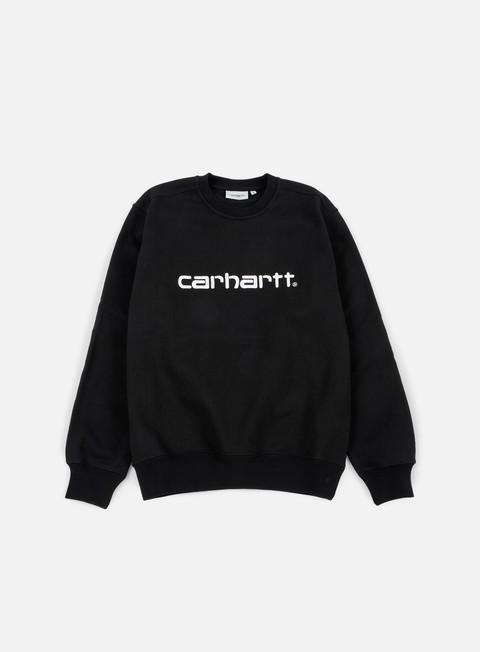 felpe carhartt carhartt sweatshirt black wax