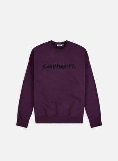 Carhartt - Carhartt Sweatshirt, Boysenberry/Black