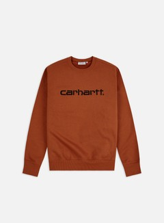 Carhartt - Carhartt Sweatshirt, Cinnamon/Black