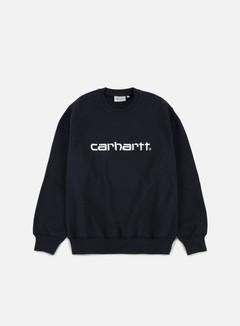 Carhartt - Carhartt Sweatshirt, Dark Navy/Wax 1