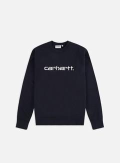 Carhartt - Carhartt Sweatshirt, Dark Navy/White
