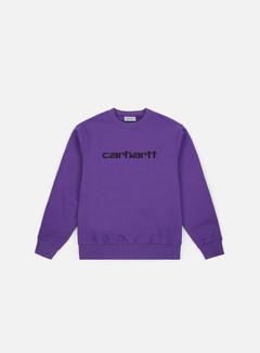 Carhartt - Carhartt Sweatshirt, Frosted Viola/Black
