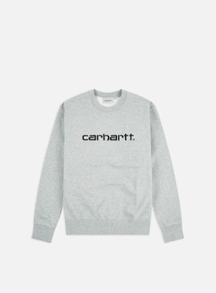Carhartt - Carhartt Sweatshirt, Grey Heather/Black