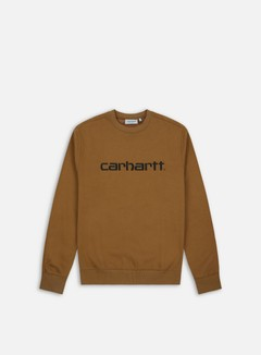 Carhartt - Carhartt Sweatshirt, Hamilton Brown/Black