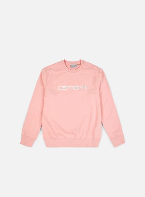 felpe carhartt carhartt sweatshirt sandy rose wax