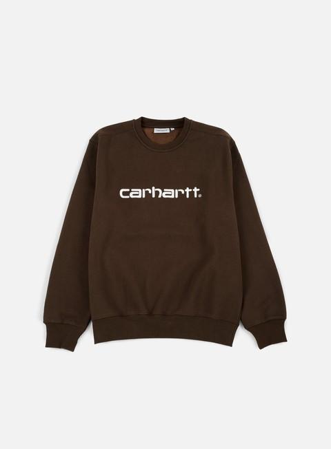 felpe carhartt carhartt sweatshirt tobacco wax