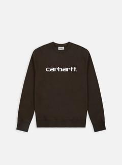 Carhartt - Carhartt Sweatshirt, Tobacco/White