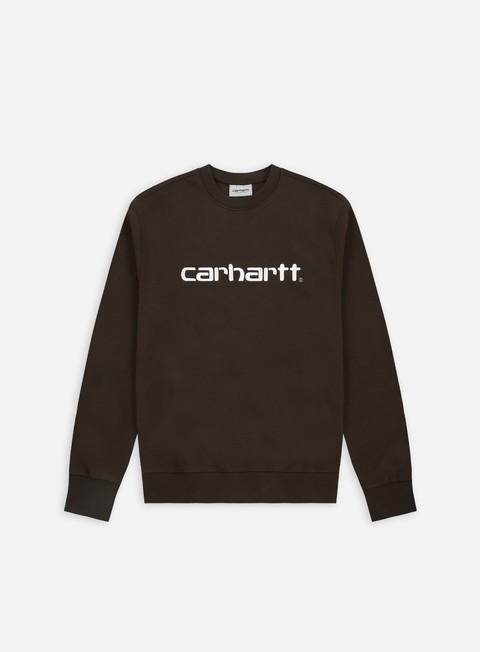 felpe carhartt carhartt sweatshirt tobacco white