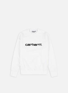 Carhartt - Carhartt Sweatshirt, White/Black