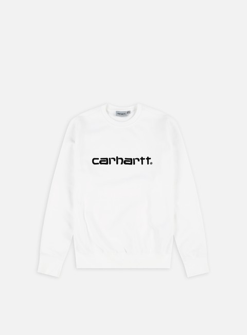 felpe carhartt carhartt sweatshirt white black