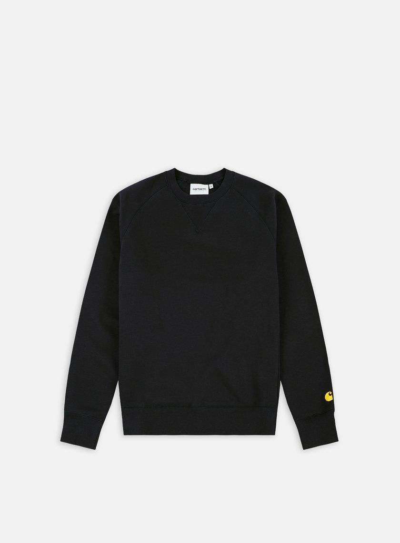 Carhartt - Chase Sweatshirt, Black/Gold