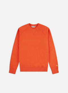 Carhartt - Chase Sweatshirt, Pepper/Gold