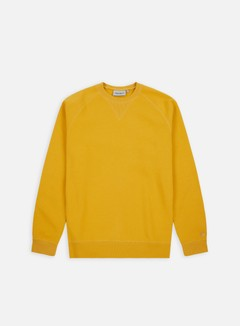 Carhartt - Chase Sweatshirt, Quince/Gold