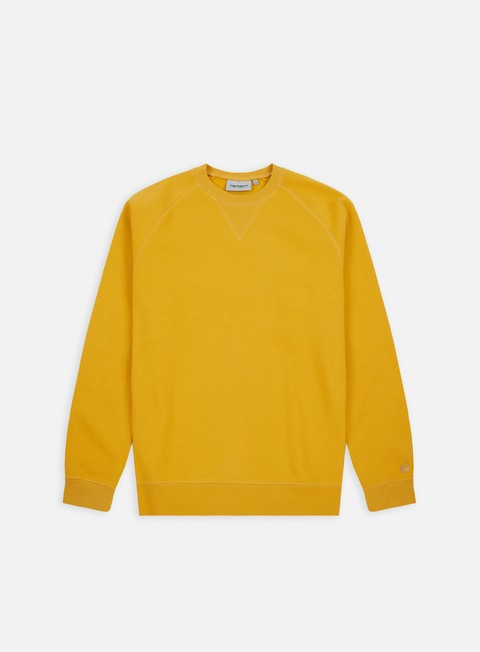 felpe carhartt chase sweatshirt quince gold