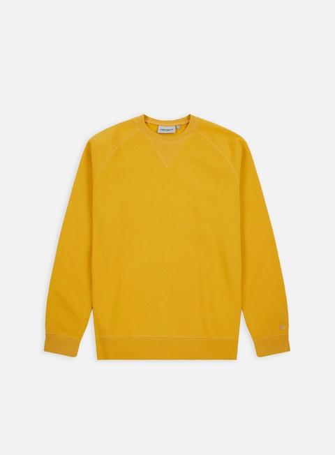 felpe carhartt chase sweatshirt quince gold