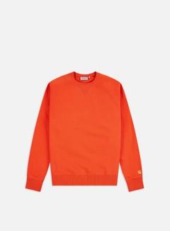 Carhartt - Chase Sweatshirt, Safety Orange/Gold