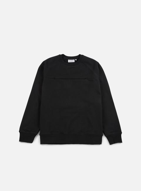 felpe carhartt chrono sweatshirt black