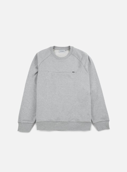 felpe carhartt chrono sweatshirt grey heather