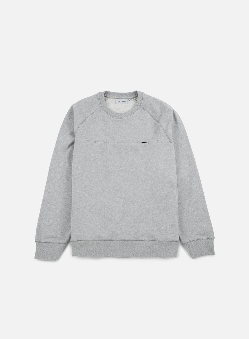 Carhartt - Chrono Sweatshirt, Grey Heather