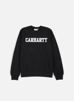 Carhartt - College Sweatshirt, Black/White 1