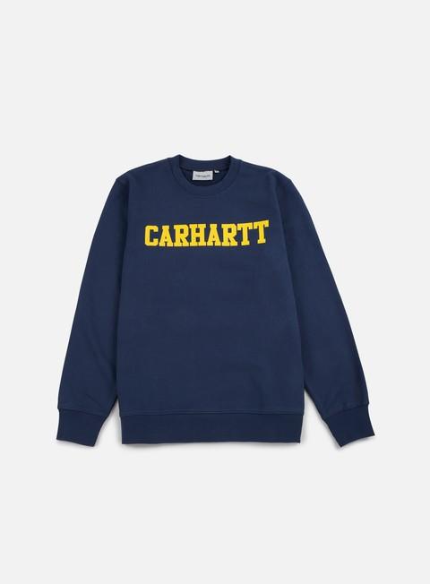Crewneck Sweatshirts Carhartt College Sweatshirt