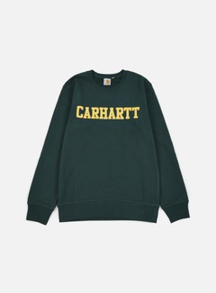 Carhartt - College Sweatshirt, Conifer/Quince 1