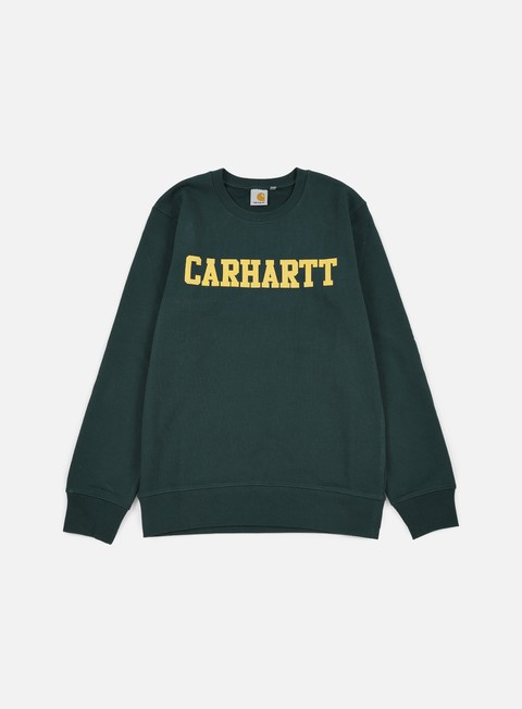 felpe carhartt college sweatshirt conifer quince