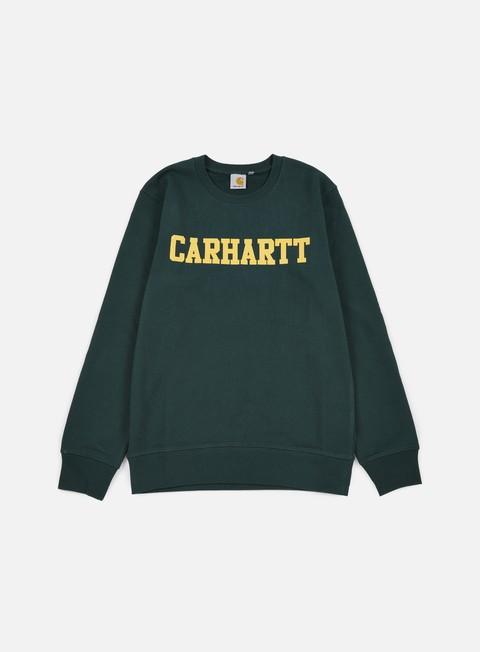 Felpe Girocollo Carhartt College Sweatshirt