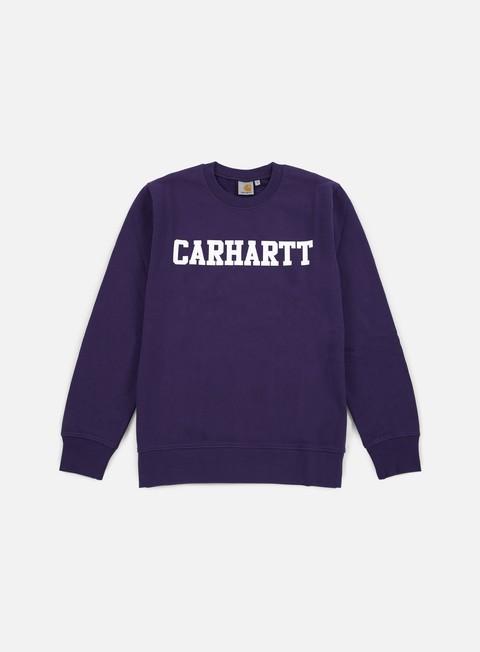 felpe carhartt college sweatshirt emperor white