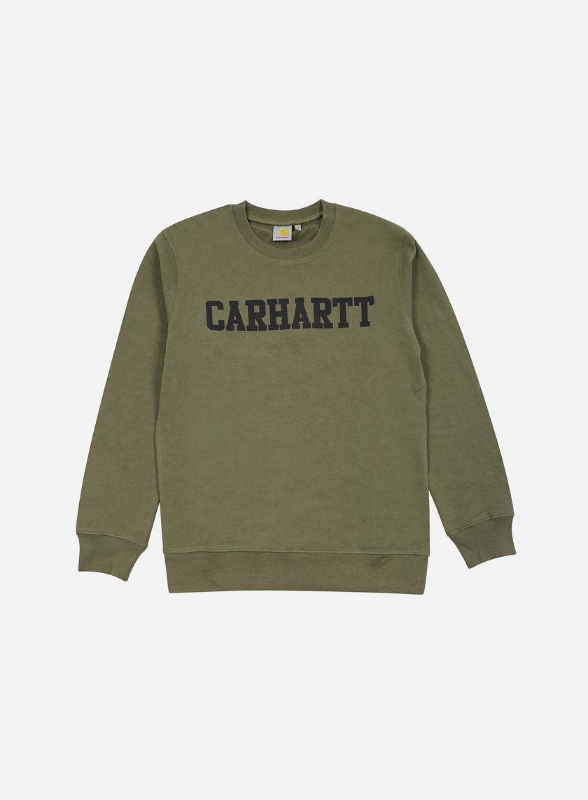 Carhartt - College Sweatshirt, Leaf/Black
