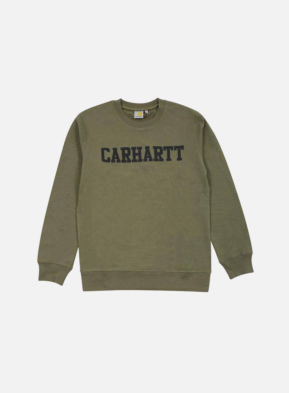 Carhartt - College Sweatshirt, Leaf/Black