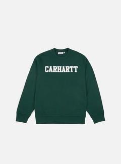 Carhartt - College Sweatshirt, Tasmania/White