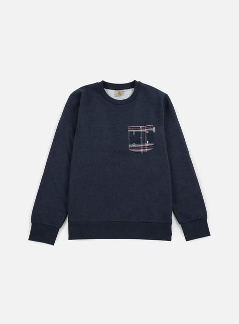 Outlet e Saldi Felpe Girocollo Carhartt Eaton Pocket Sweatshirt